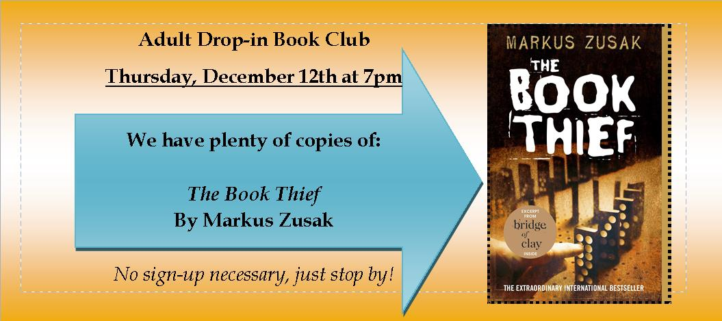 Drop In Book Club December 2019