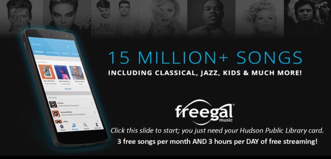 Freegal Streaming