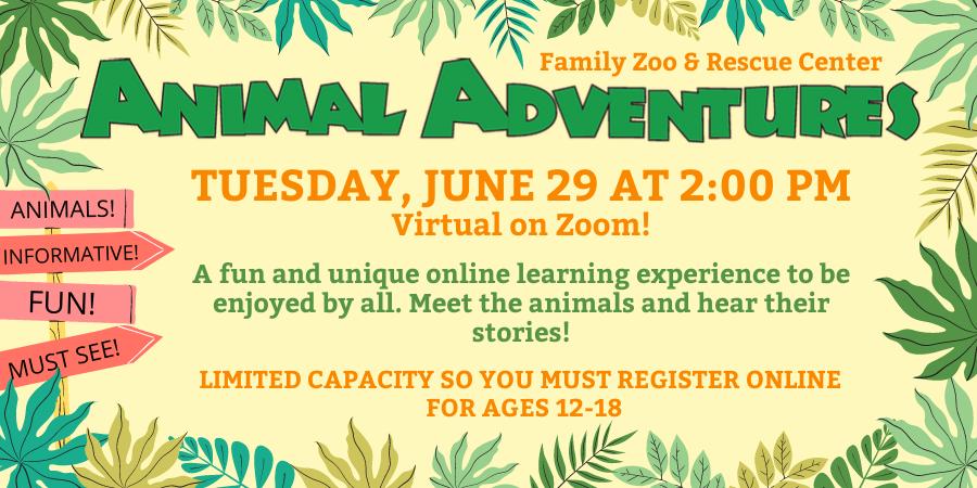 Teen Animal Adventures