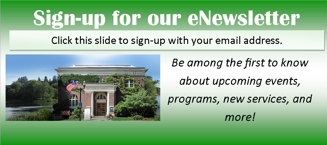 eNewsletter Signup – Constant Contact