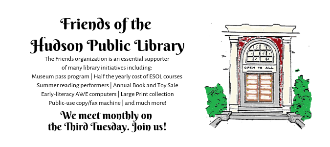 Friends of the Hudson Public Library (1)