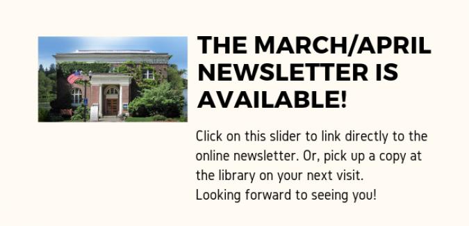 March_April Newsletter announcement for slider mmm