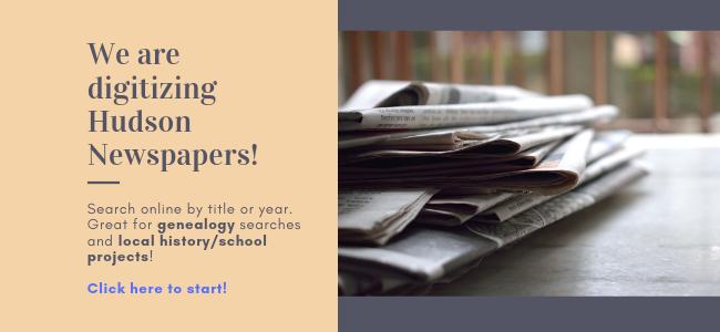 Zdigitizing Hudson newspapers (FB size)
