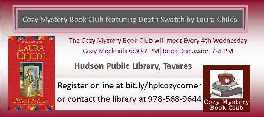 February 2020 Cozy Mystery Book Club