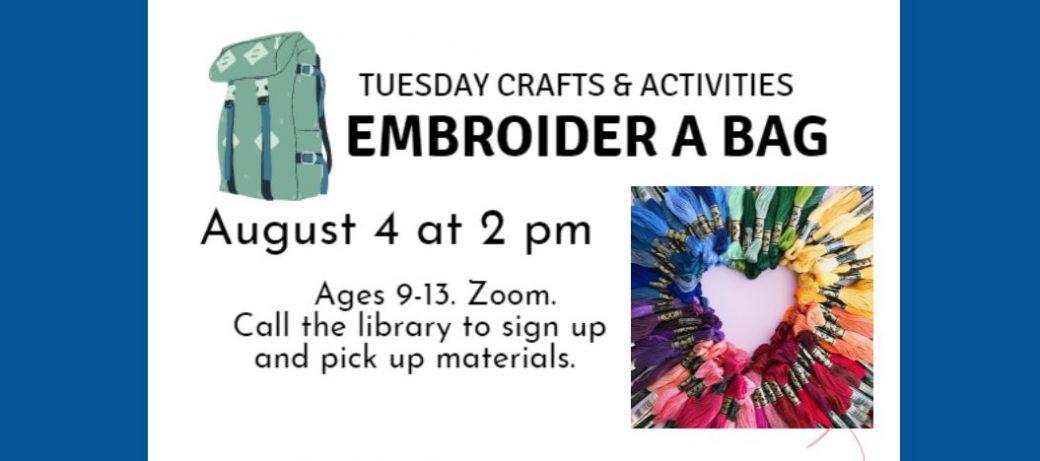Embroider a Bag