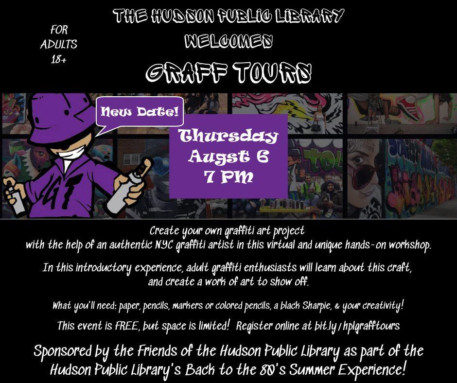 GRAFF TOURS: GRAFFITI ART WORKSHOP