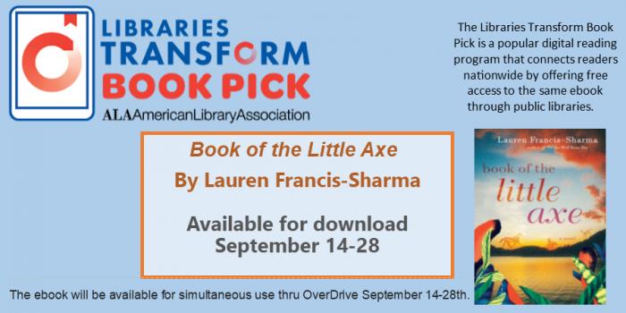 Slider for Libraries Transform Book Pick