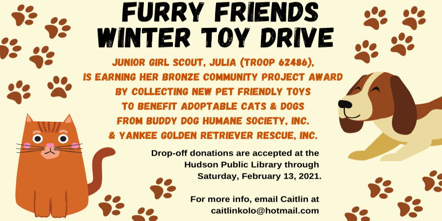 Furry Friends Toy Drive 2021