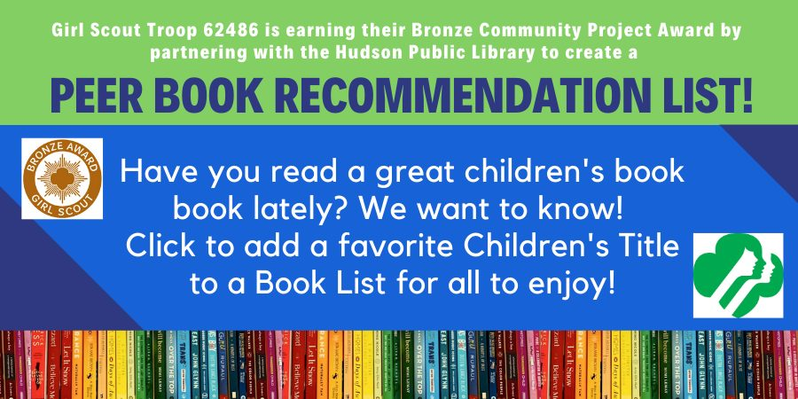 Peer Book Recommendation List Girl Scouts