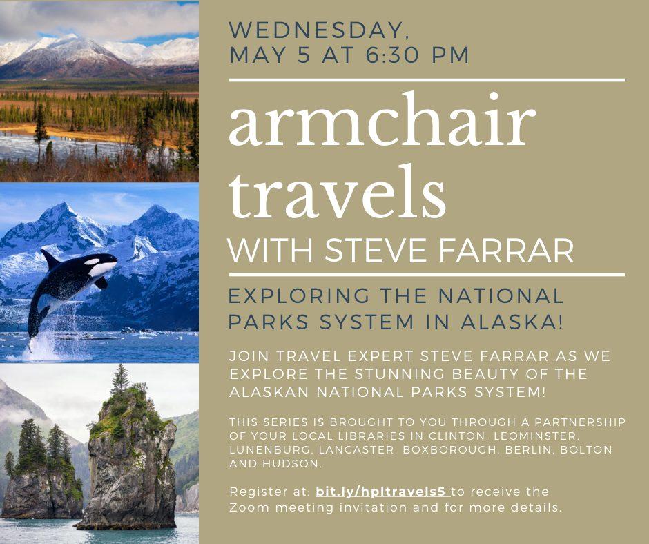 armchair travels WITH STEVE FARRAR5