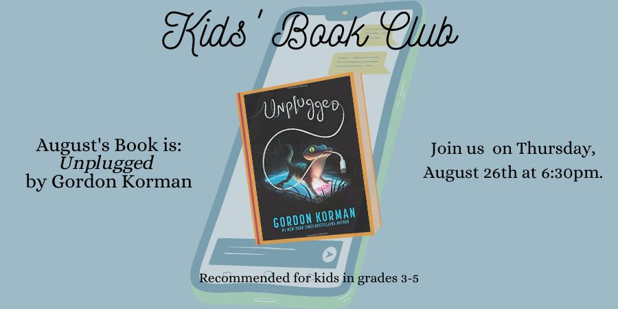 August 2021 Book Club Slider