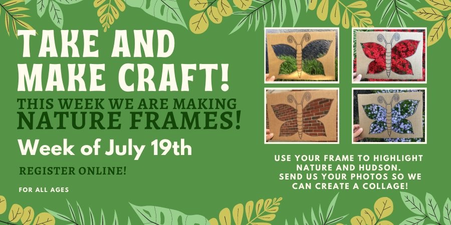 Children's T&M Craft nature frames