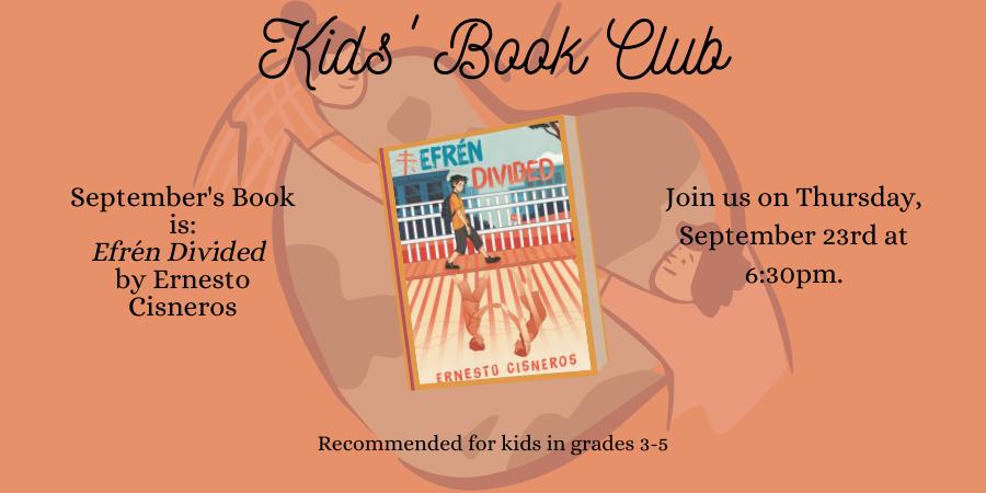 September 2021 Book Club Slider