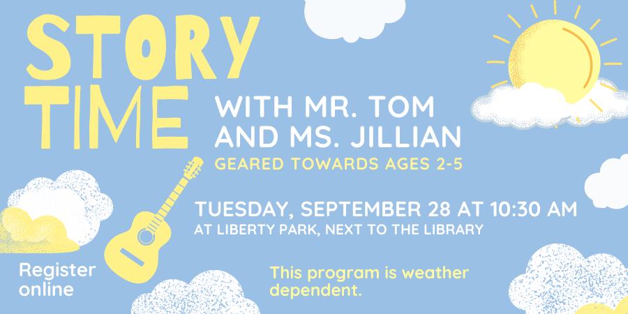 September Children's Story Time